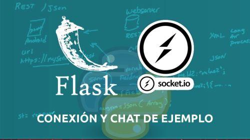 Python Flask y Socketio | Conexión y Chat de Ejemplo