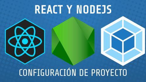 React y Node.js Configuración de Proyecto