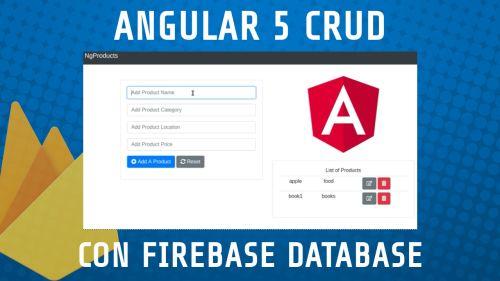 Angular Firebase CRUD