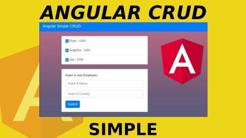 Angular CRUD Simple | Tu primer Aplicación CRUD en Angular