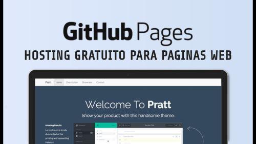 Github Pages, Hosting Gratuito para Páginas web