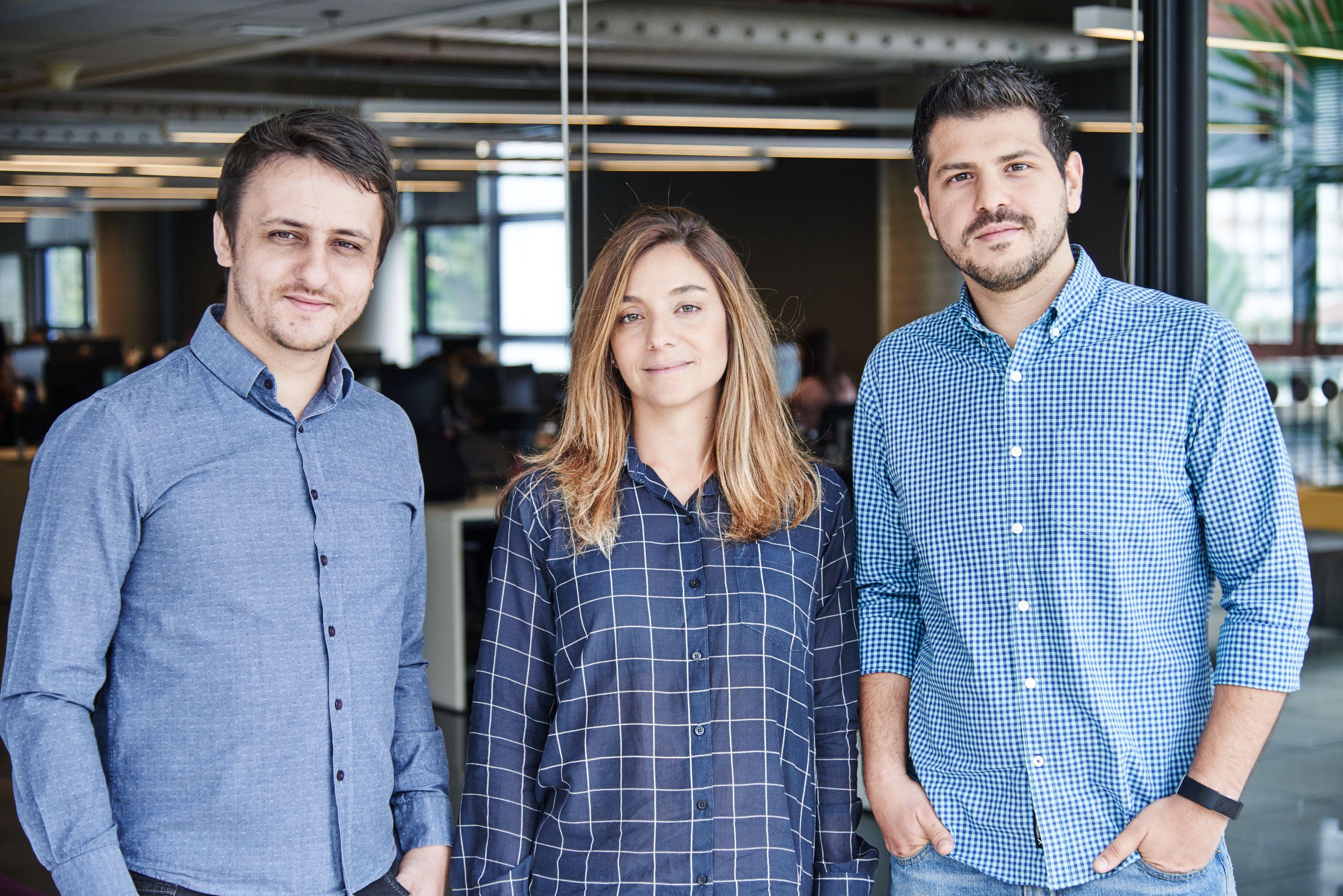 Da esquerda para a direita: Isaias Lemes, Veruska Cicio e Leandro Ribeiro