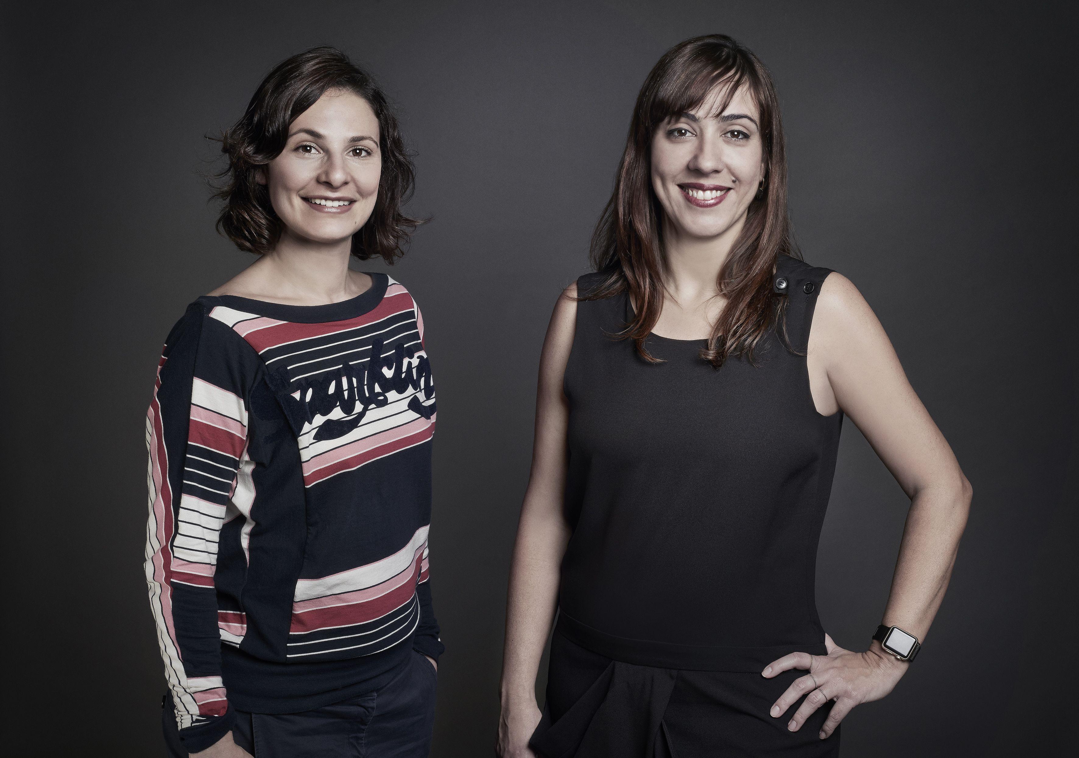 Sara Silva, diretora de planejamento da F.biz, ao lado de Renata d'Ávila, CSO da agência