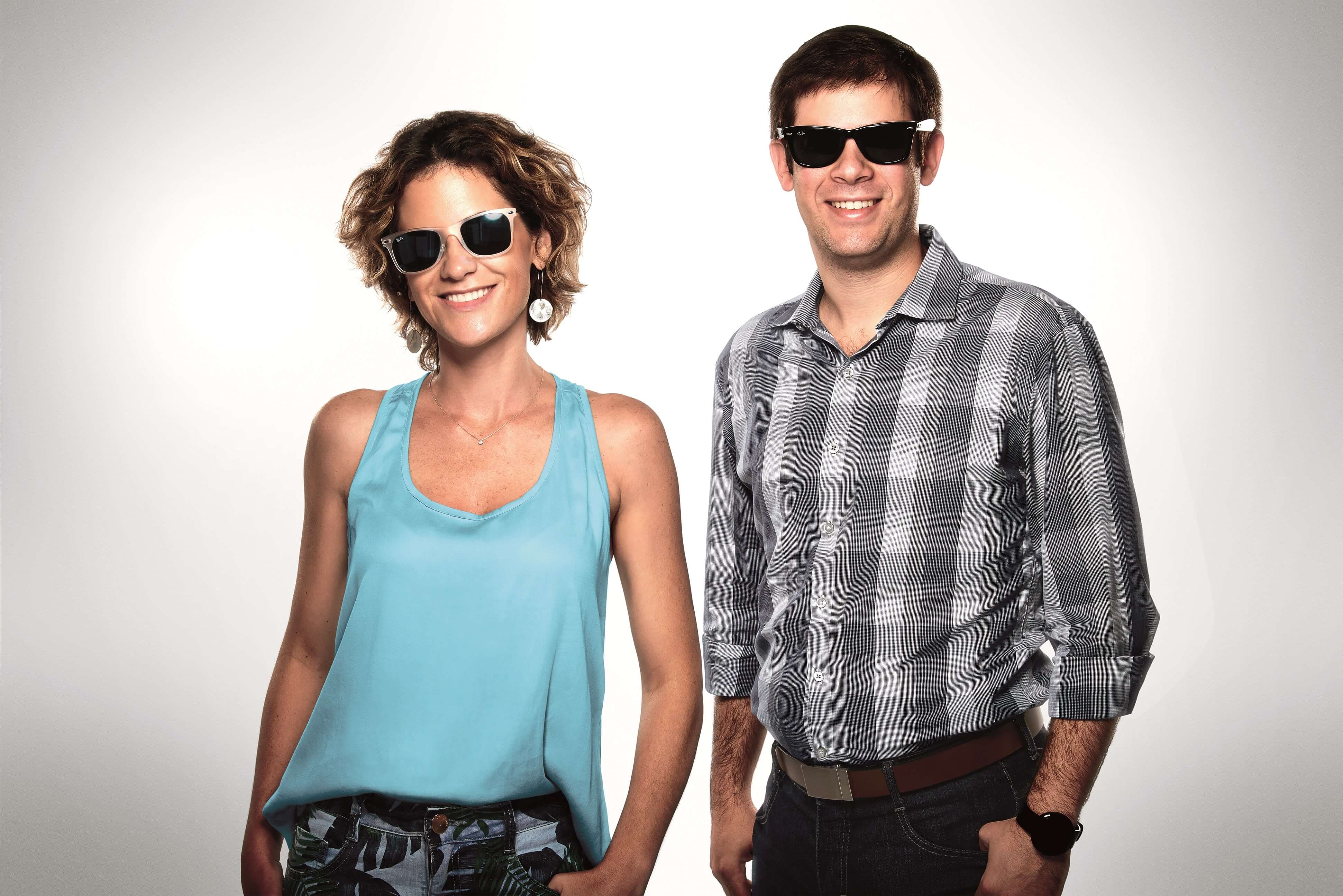 Mariana Stanisci e Roberto Grosman