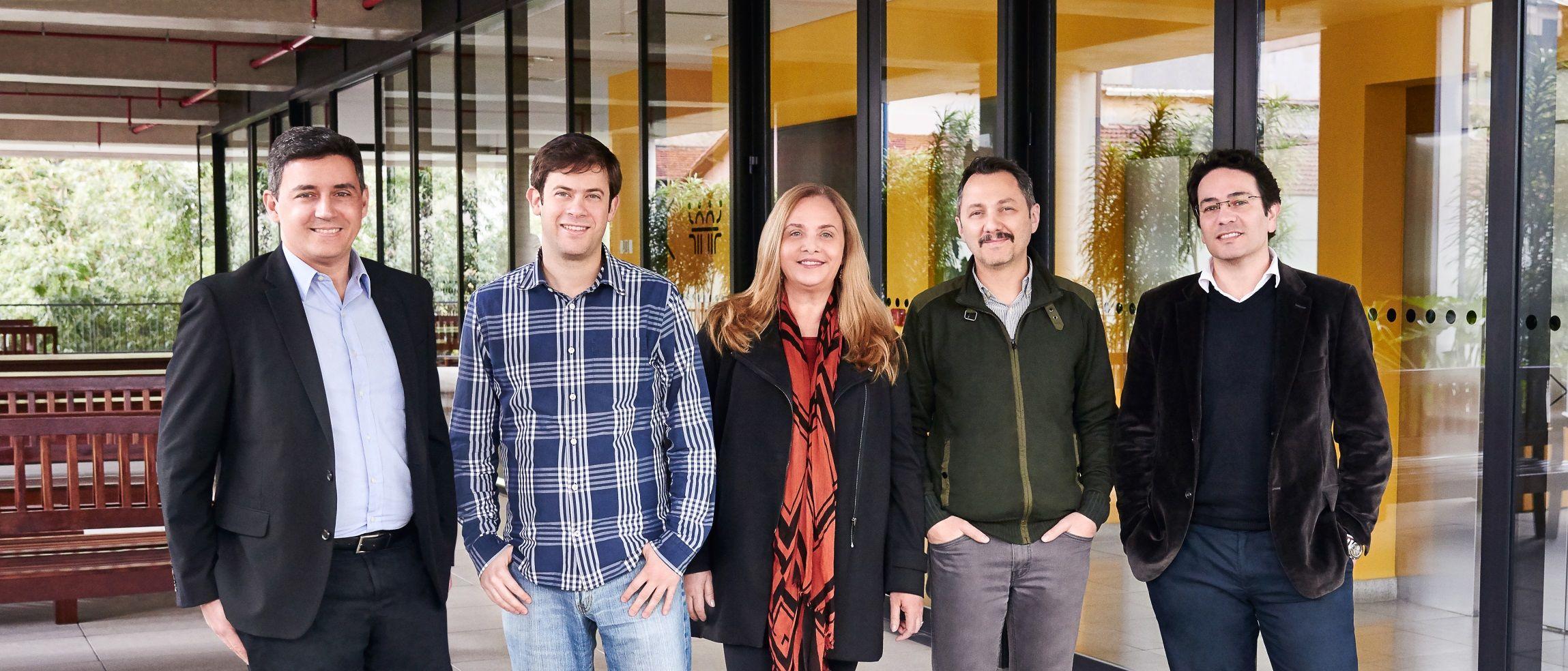 Alexandre Cury, Roberto Grosman, Claudia Canazza, Fabio Astolpho e Odair Dedicação Jr.
