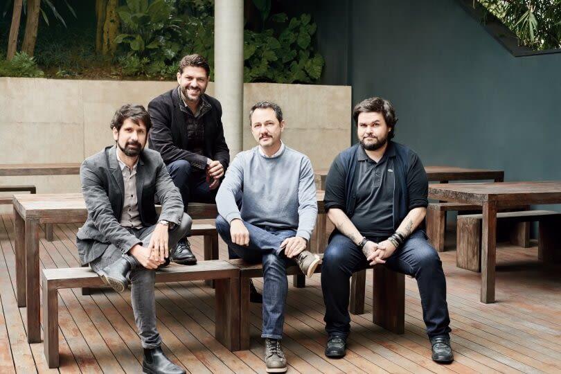 Alessandro Bernardo, Guilherme Jahara, Fabio Astolpho e Rodrigo Senra