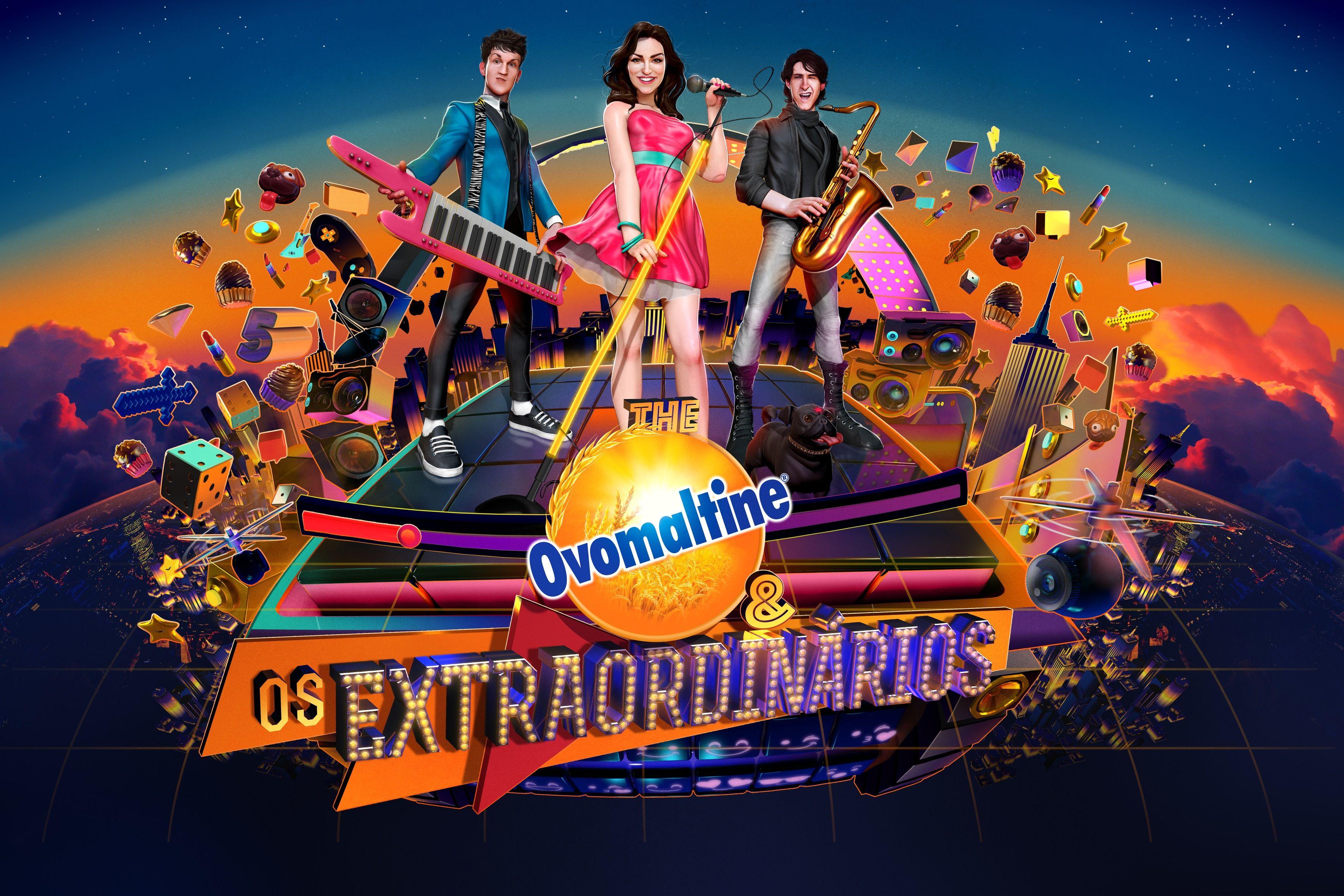 The Ovomaltine e Os Extraordinários