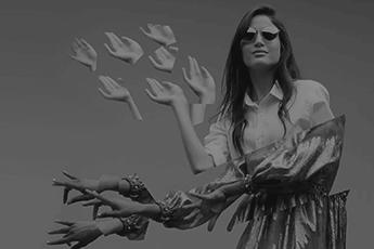 Primeira campanha de Vogue Eyewear produzida no Brasil