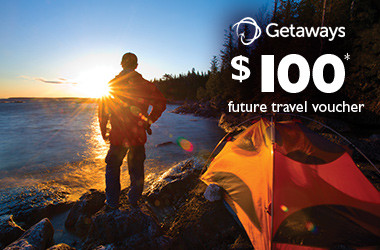 Receive $100* future travel voucher with Flight Centre Getaways!