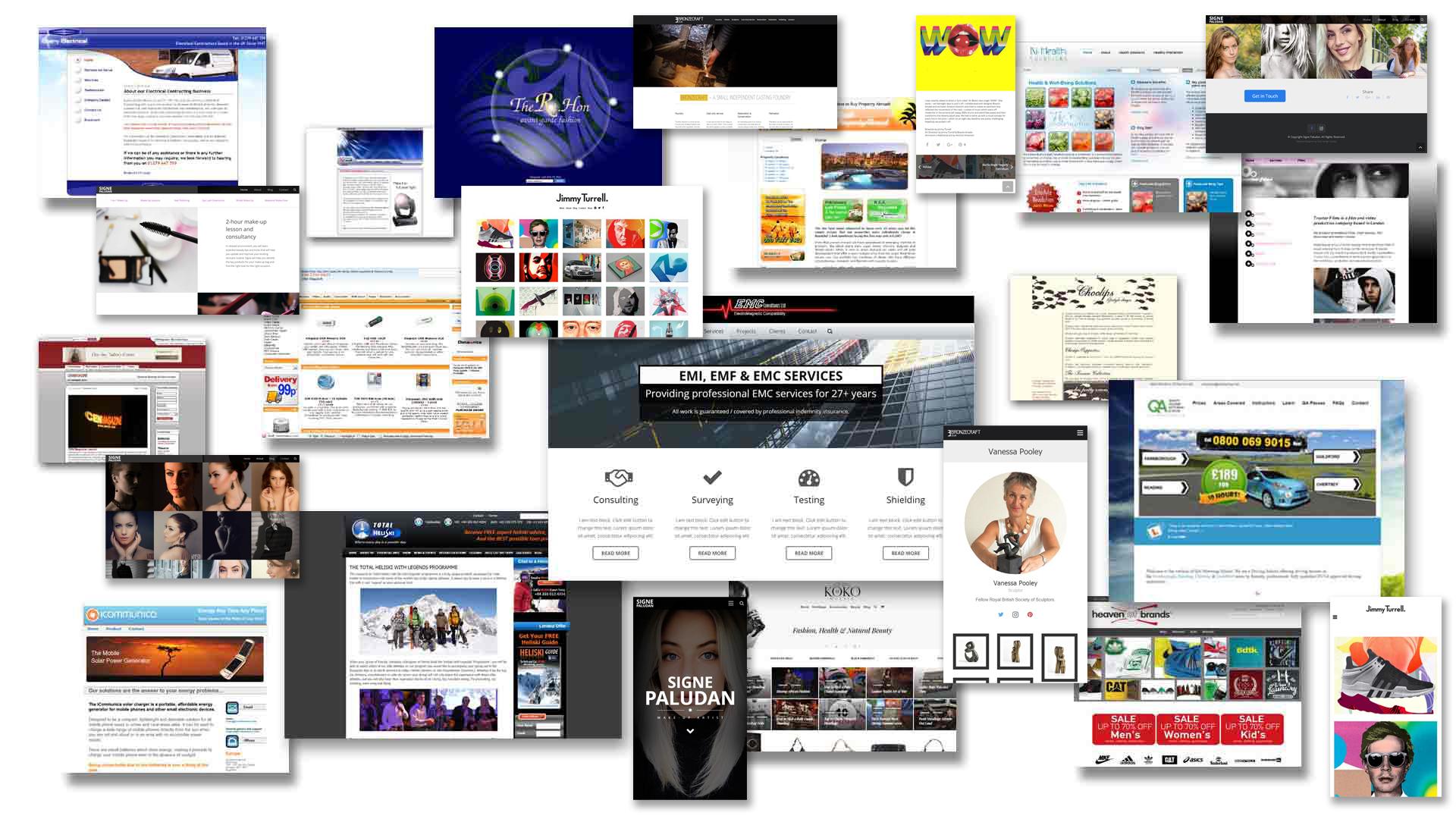 Web Design Portfolio Mozaic
