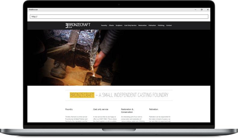 Bronzecraft Web Rebuild