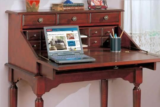 Vintage writing desks