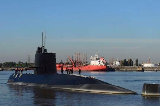 Argentina missing submarine