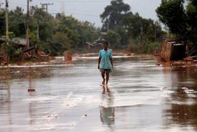 Flooding Laos