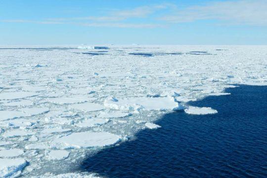 Antarctic winter seas