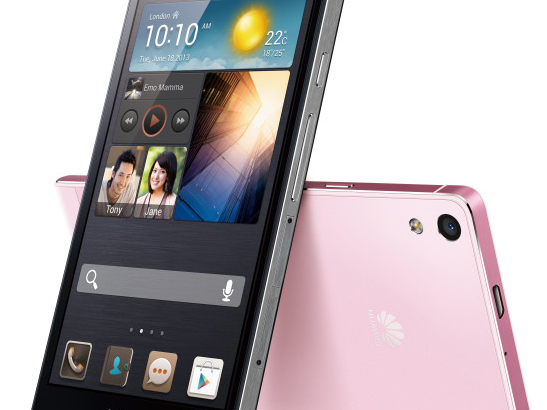Ascend P6 - World's Slimmest SmartPhone from Huawei