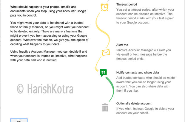 Google Inactive Account Manager Launched