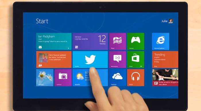 Tiles and Screen in Windows 8.1