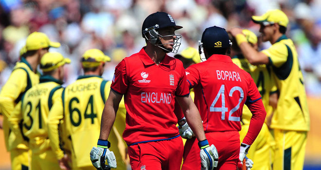 England's Win Over Australia in ICC Champions Trophy