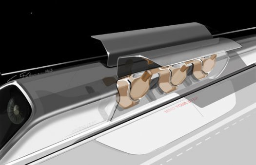 Elon Musk's Bullet Train the Hyper Loop