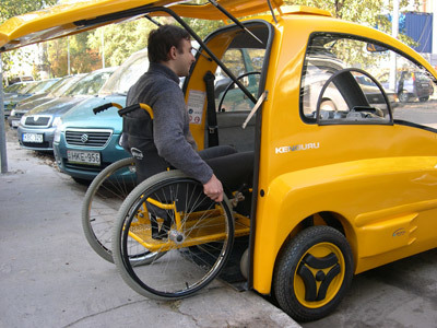 Kenguru - A Car Specially Made for the Disabled