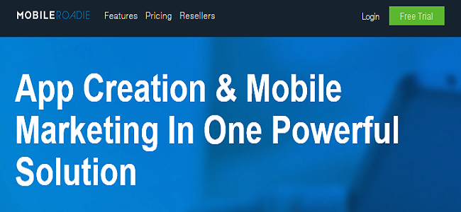Mobile Roadie is an amazing self-service mobile app maker that helps people to develop business related mobile apps for multiple mobile platforms such as Android and IOS.