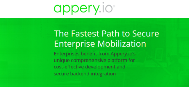 Appery.io is the single drag-and-drop cloud-based platform that comes with visual development tools and merged with backend services.