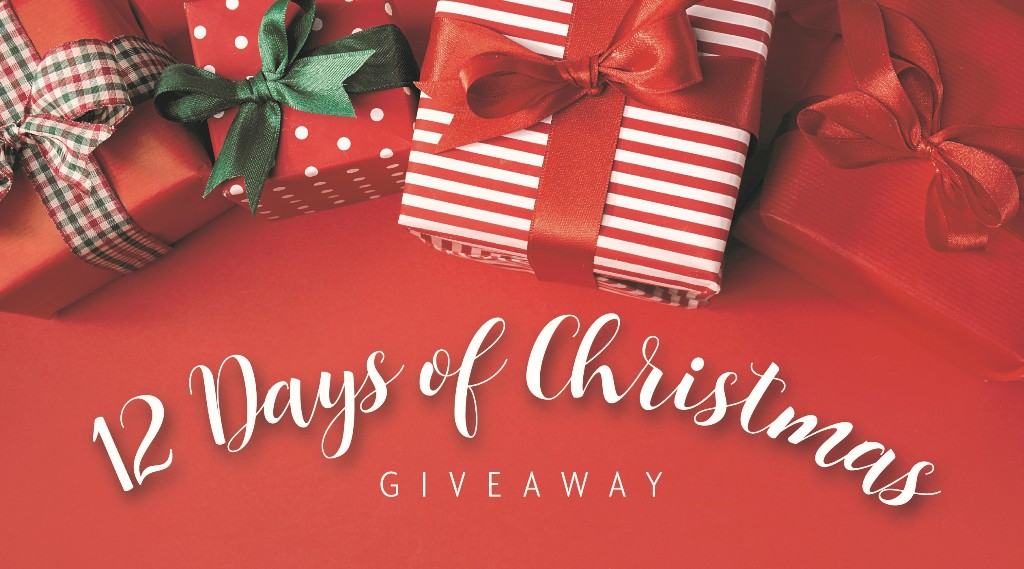 Twelve days of Christmas giveaway