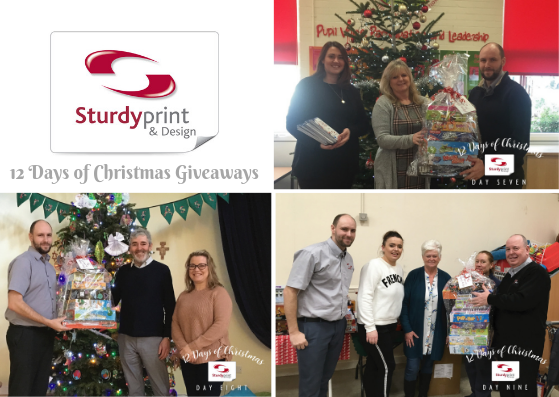 Days 7, 8 and 9 of Sturdy Print Christmas Giveaways