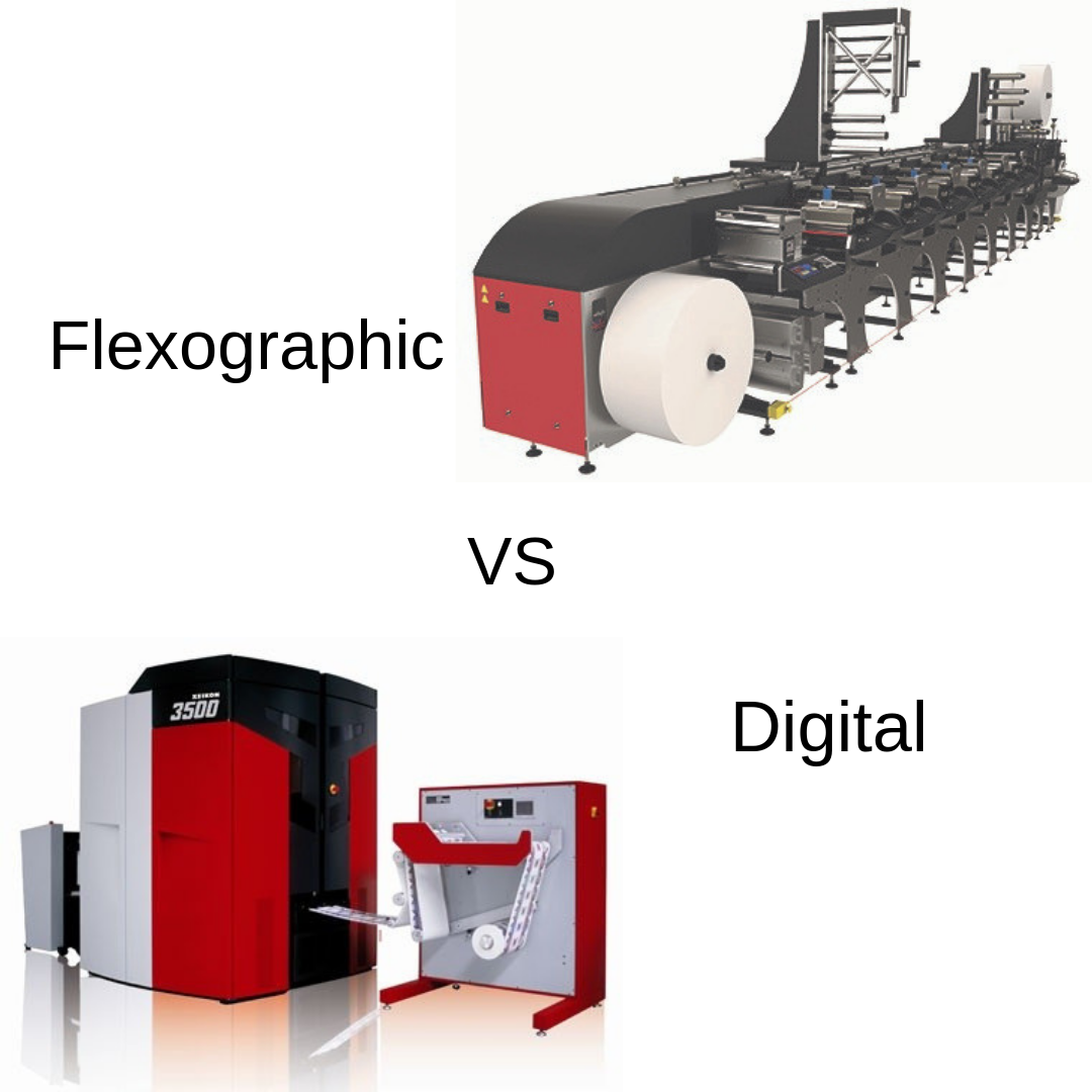 Flexographic vs Digital Printing - Which is best