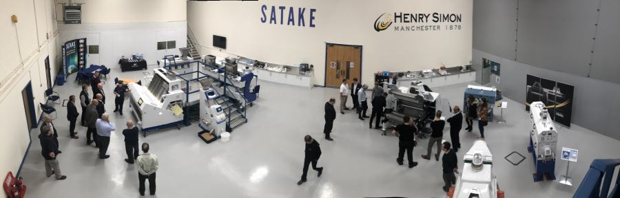 North of England Millers Association visit  Satake
