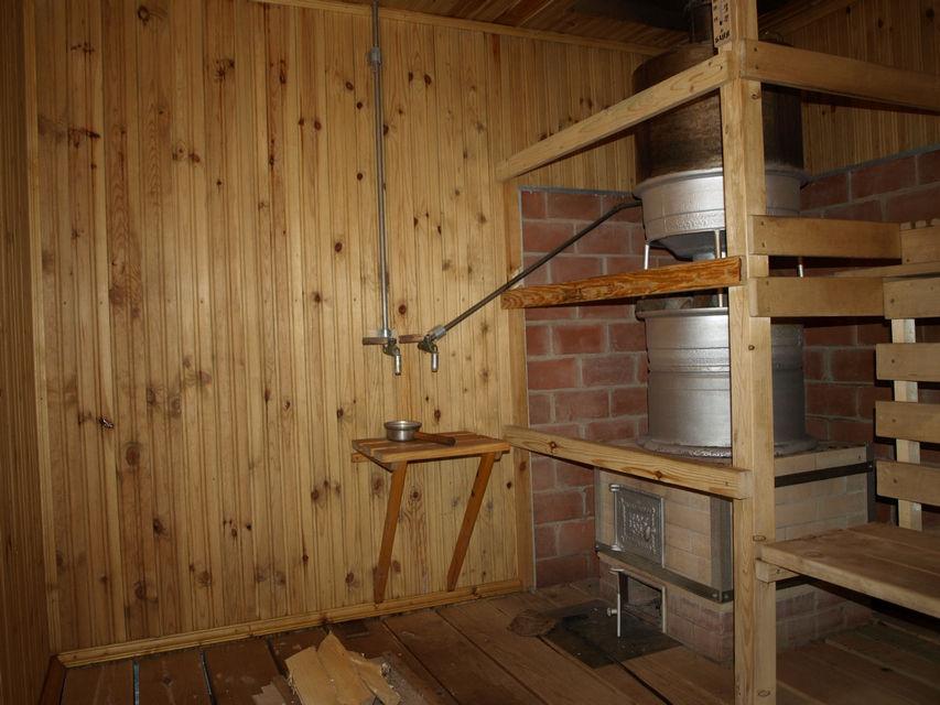 Печь баня из колёсных дисков фото