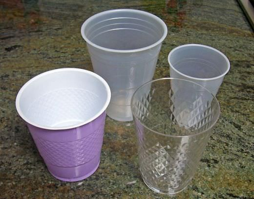 Hot Tea and Hot Coffee in Plastic Cup