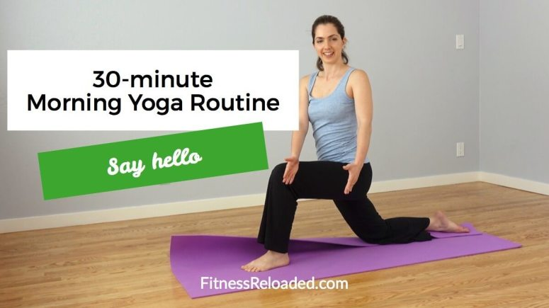30-Minute Morning Yoga Routine: 'Say Hello' (video)