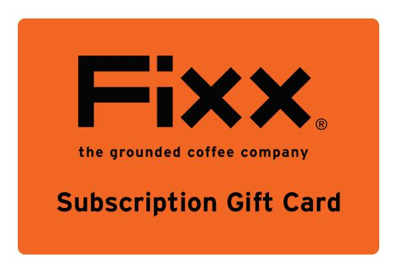 FiXX Subscription Gift Card