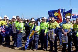 Australia workers