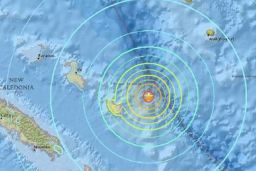 New Caledonia Tsunami