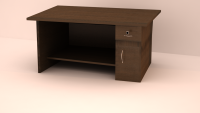 Coral Study Table, FlatFurnish