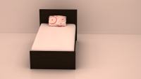 Coral Single Bed Room Set, FlatFurnish