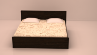 Coral Queen Bed Room Set, FlatFurnish