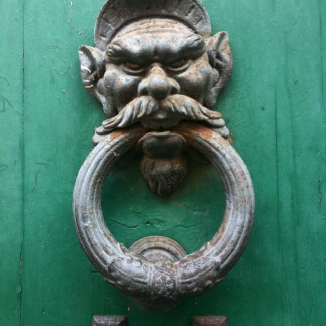 Antique Gargoyle Door Knocker Picfair
