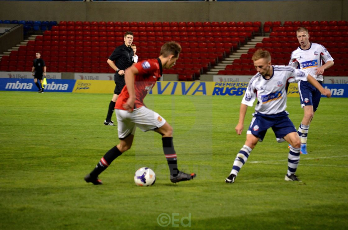 Manchester United starlet Adnan Januzaj scores a stunning golazo for the U21s