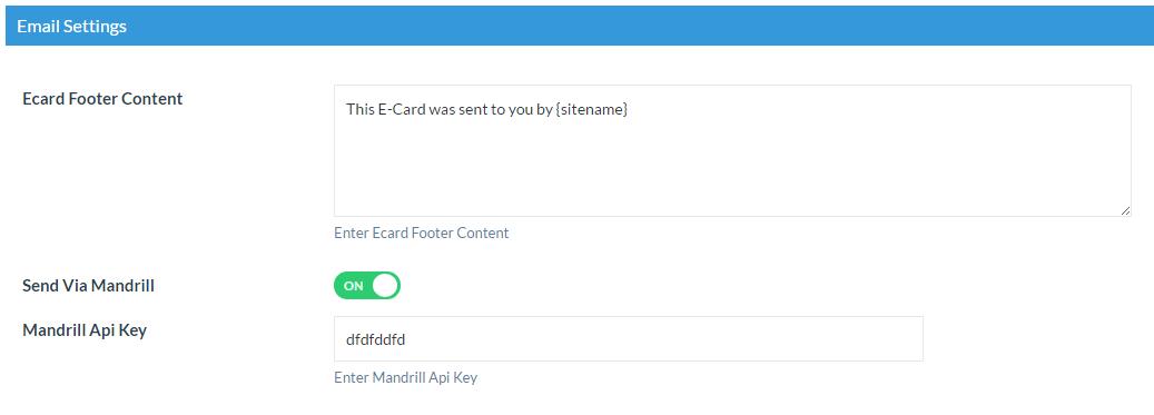 email settings tetiwc WooCommerce eCard pro