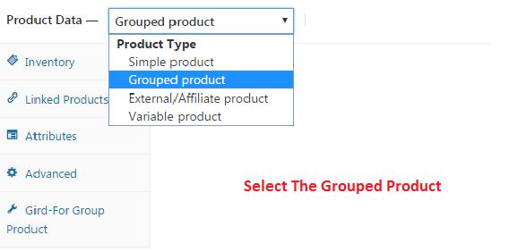 selectthegrupedproduct