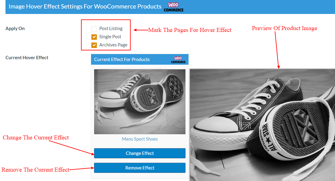 Woocommerce Product Backend