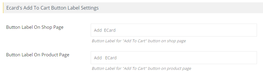 Customize Button Labels
