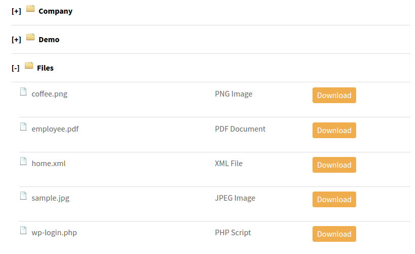 Listing Custom Directory