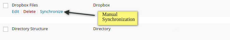 Manual Files & Folder synchronization