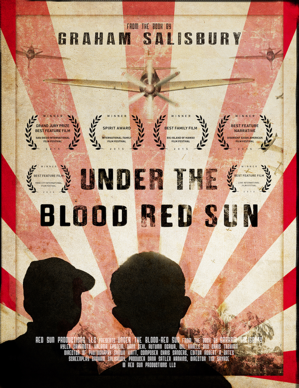 under the blood red sun For the past year our team has been in pre-production on under the blood-red sun, planning and pulling together all of the resources required to make a movie that will do the book-- and its millions of fans-- justice.
