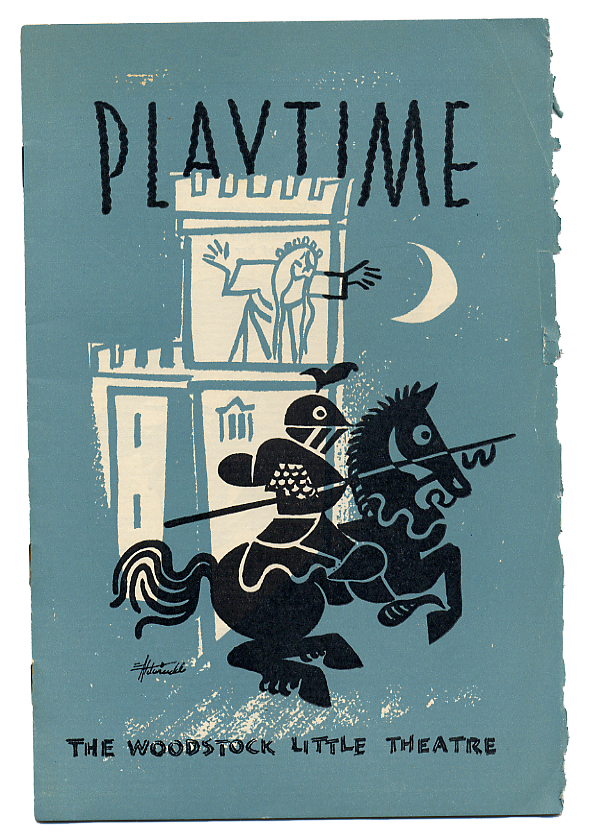 Play Time program artwork designed by Eric Aldwinkle